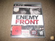 """Jogo """"Enemy Front"""" PS3/Completo!"""