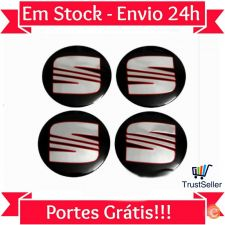Z313 Pack 4 Centros Jante Emblema SEAT 90mm ibiza toledo