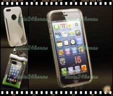 Capa case cover S-Line gel silicone iPhone 5 e 5S
