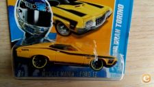 2012 HOT WHEELS - 72 FORD GRAN TORINO SPORT       *NOVO*