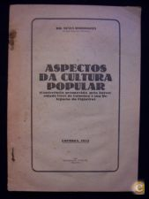 DR. NEVES RODRIGUES - ASPECTOS DA CULTURA POPULAR - 1932