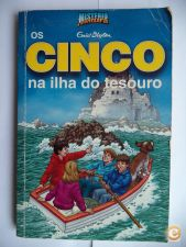 Os cinco na ilha do tesouro - Enid Blyton