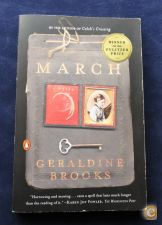 3. Livro March , Geraldine Brooks