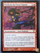 Magic CURSE OF STALKED PREY, kk MALDIÇÃO DA PRESA VIGIADA