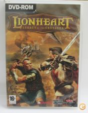 Jogo PC Lionheart: Legacy of the Crusader (como novo)