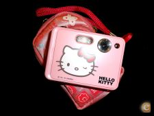 Máquina Fotográfica Digital Hello Kitty