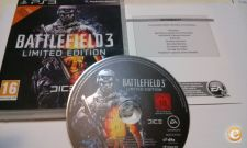 Battlefield 3 e 3 Limited Edition - Bom estado - PS3