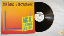 "MC B Feat. Daisy Dee This Beat Is Technotronic 12"" Maxi"