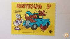 ANTIGUA - SCOTT 567  CARROS        ( DISNEY )
