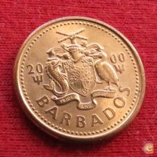 Barbados 1 cent 2000 KM# 10a   *V