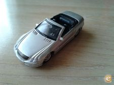 WELLY NEX - MERCEDES BENZ 500 SL CABRIO   1/64 APROX  *NOVO*