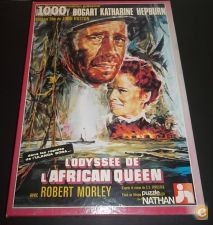 Puzzle do filme AFRICAN QUEEN - Humphrey Bogart