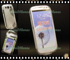 Capa case cover S-Line gel silicone Galaxy S3 GT-i9300