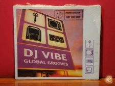 DJ Vibe - Global Grooves / Sealed / 2 x Cd Mixed / PT 2000