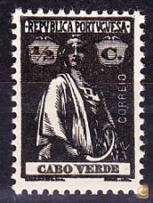 CABO VERDE . CERES  - 1/2 C. - MNH**