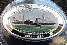 Cook 5 dollars 2013 Navio SS Republic PROOF Prata