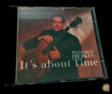 Manfred Dierkes It's About Time CD Jazz Guitarra