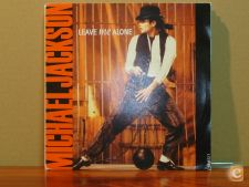 MICHAEL JACKSON - LEAVE ME ALONE  (vinil SINGLE) IMPORT