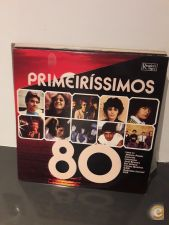 Primeirissimos 80 LP PORTUGAL Pop Rock UHF GNR R Veloso Paul