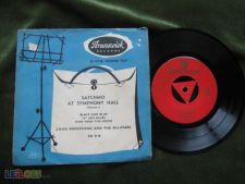 "LOUIS ARMSTRONG AND THE ALL-STARS-SINGLE 7"" 45 RPM"