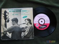 "THE GERRY MULLIGAN QUARTET vol 4-SINGLE 7"" 45 RPM"