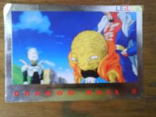CARTA -COLECÇAO DRAGON BALL Z SERIE 2