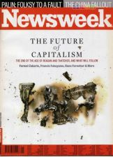 """Newsweek - October 13, 2008 """"The Future Of Capitalism"""""""