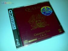 QUEEN GREATEST FLIX I & II (2 VIDEO CDs) SUPER RARÍSSIMO