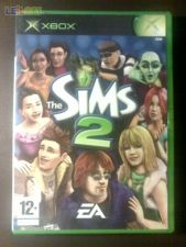 SIMS 2 II XBOX xr COMPLETO