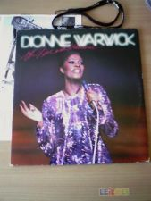 DIONNE WARWICK Hot Live and Otherwise xr 1981 2LP