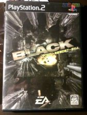BLACK, PS2 JAP COMPLETO