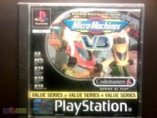 MICRO MACHINES PS1 COMPLETO