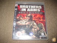 """Jogo """"Brothers In Arms: Hell`s Highway"""" PS3/Completo!"""