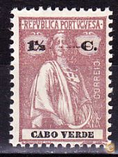 CABO VERDE . CERES  - 1 1/2 C. - MNH**