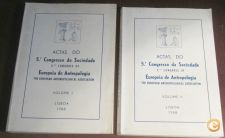 Actas do 5º Congresso de Antropologia (2 VOLS) / 5th Co