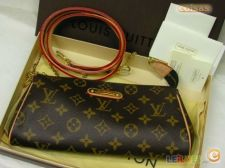 Louis Vuitton Eva Clutch Classic Nova a Estrear Pele