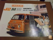 MORRIS J2 M16 Furgoneta Pick-Up & Mini Bus Desdobravel