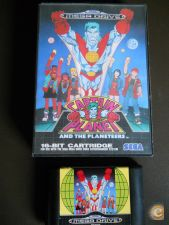 CAPTAIN PLANET AND THE PLANETEERS md Mega Drive