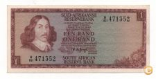 SOUTH AFRICA 1 RAND 1973 - 1975 PICK 116A AUNC