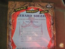Gérard Souzay-French Operatic Arias-Opera-LP 33 rpm
