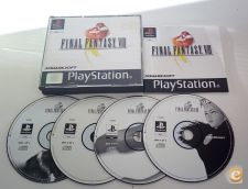 PLAYSTATION 1 PSX PSONE FINAL FANTASY VIII 8 BLACK LABEL