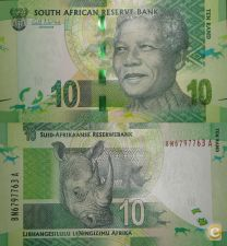 AFS133 - ÁFRICA DO SUL - 10  RANDS - (2012)