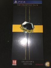 METAL GEAR SOLID V PHANTOM PAIN COLLECTORS EDITION PS4 NOVO