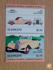 ST. VINCENT - SCOTT PAR  CITROEN OPEN TOURER 1937