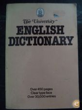 The University English Dictionary