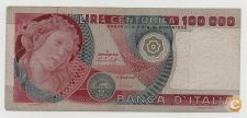 ITALY 100000 LIRE 1978 PICK 108 VER SCANS