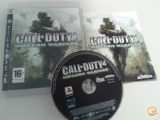 Call of Duty 4 Modern Warfare - Bom estado - PS3