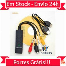 L316 DC60 EasyCap Pen Captura Video PC DVD VHS PS3 WII XBOX