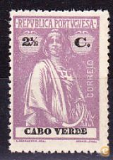 CABO VERDE . CERES  - 2 1/2 C. - MNH**