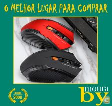 Rato sem fios 2.4 GHz Wireless Optical Gaming Mouse